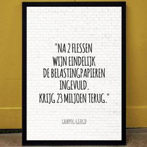Citaten - personaliseerbare poster