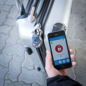 Slimme Bluetooth Bagageslot