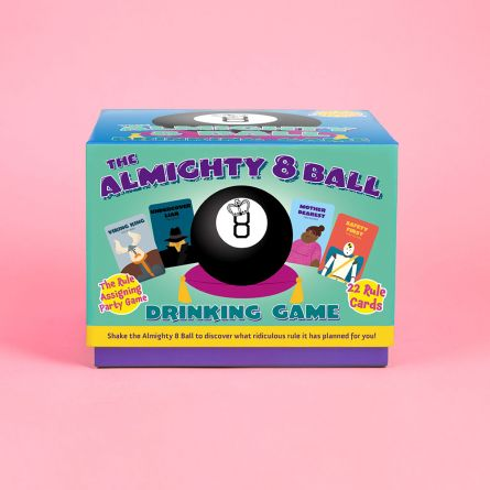 Magic 8 Ball drankspel