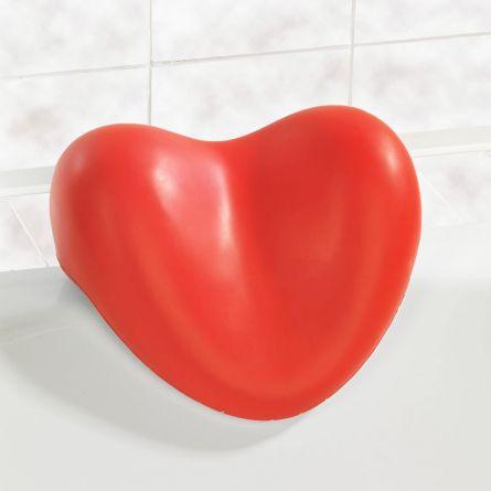 Hart kussen voor het bad