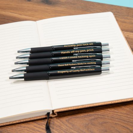 Gegarandeerd onvriendelijke schrijfset