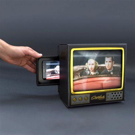 Smartphone vergroot scherm