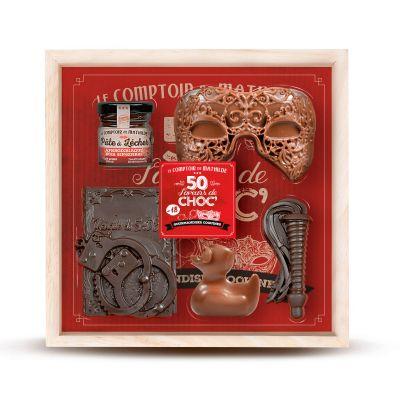 Gekke Gifts - 50 Shades of Chocolade