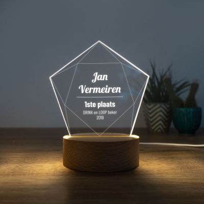 Cadeau idee - LED-licht met ster