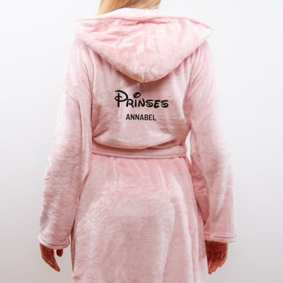 Winter - Personaliseerbare badjas prinses