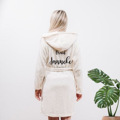 Cadeau idee - Personaliseerbare badjas met naam
