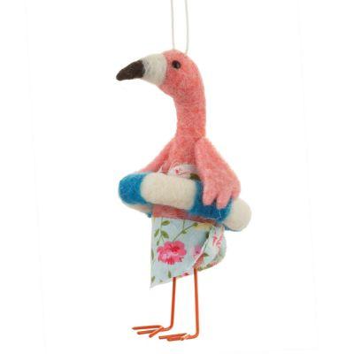 Solden - Flamingo Kerstboomversiering