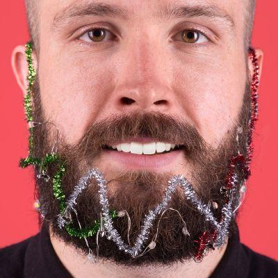 Kerstversiering - Kerstlichtjes voor in je baard