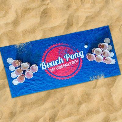Zomer - Beach Pong Handdoek