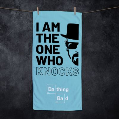 Nieuw - I Am The One Who Knocks handdoek