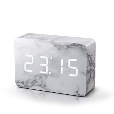 Klokken - Brick Click Clock Wekker