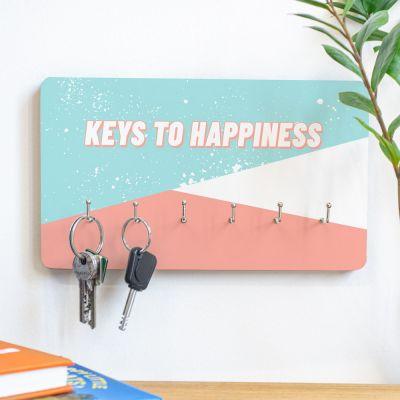 Decoratie - Personaliseerbaar sleutelbord met tekst