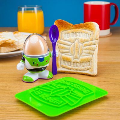Disney - Buzz Lightyear eierdopje met vorm voor toast
