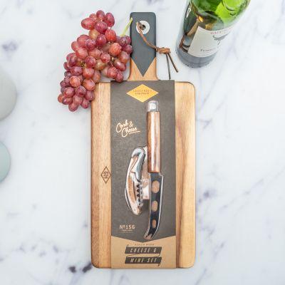Keuken & barbeque - Serveer Set voor Wijn en Kaas