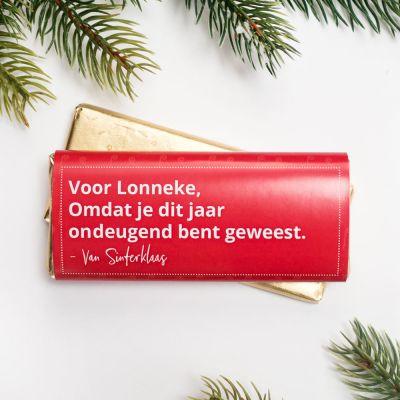 Snoepgoed - Personaliseerbare Chocolade Sinterklaas