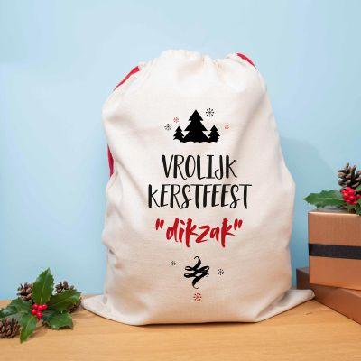 Sinterklaas surprise - Personaliseerbare kerst zak