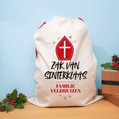 Sinterklaas surprise - Personaliseerbare Zak van Sinterklaas