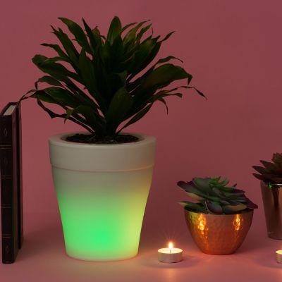 Home Gadgets - Lichtgevende bloempot met kleurverandering