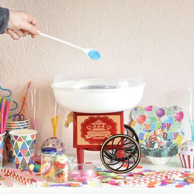 Cadeau voor zus - Suikerspinmachine