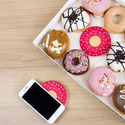 Smartphone accessoires - Draadloze Donut Oplader