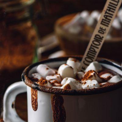 Snoepgoed - Warme choco op lepel