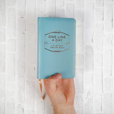 Afscheidscadeau - One Line A Day – dagboek voor 5 jaar