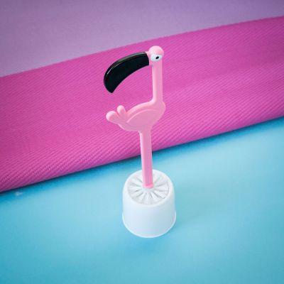 Badkamer - Flamingo WC borstel