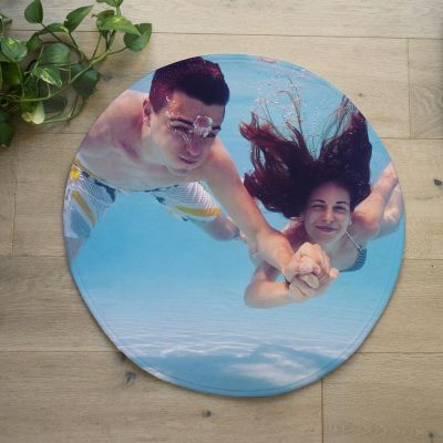 Housewarming cadeau - Personaliseerbare badmat met foto