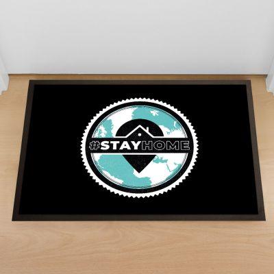 Stay Home deurmat