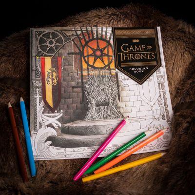 Back to school cadeaus - Game Of Thrones Kleurboek