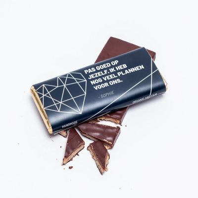 Gepersonaliseerde snoep - Personaliseerbare chocolade met tekst