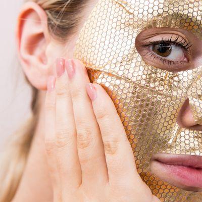 Back to school cadeaus - Gold gezichtsmasker