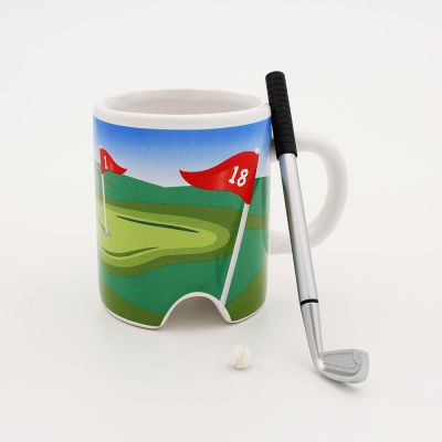Kopjes & glazen - Golf Mok