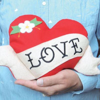 Valentijnscadeau - Verwarmbaar knuffel hartje