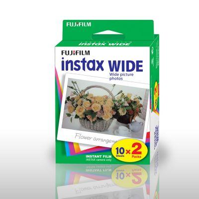 Camera & foto - Fujifilm Instax WIDE camerafilms - set van 2