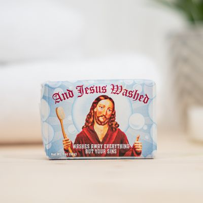 Gekke Gifts - And Jesus Washed zeep