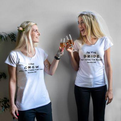 Kleding & accesoires - Personaliseerbaar T-shirt voor de bruiloft