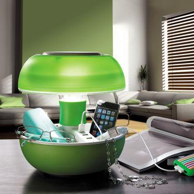 Verlichting - JOYO tafellamp met USB-poorten