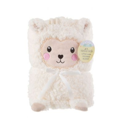 Baby cadeaus - Lama baby deken