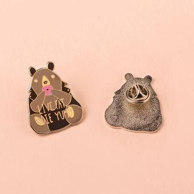 Sieraden - Dikke beer pin