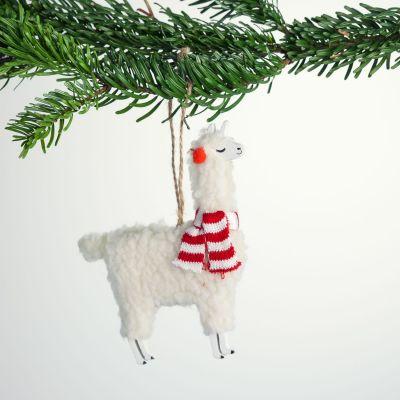 Kerstversiering - Lama Kerstboom decoratie