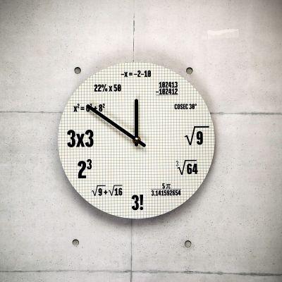 Klokken - Wiskunde klok