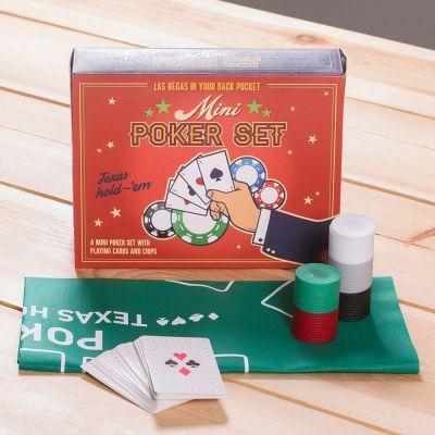 Cadeau voor hem - Mini pokerset