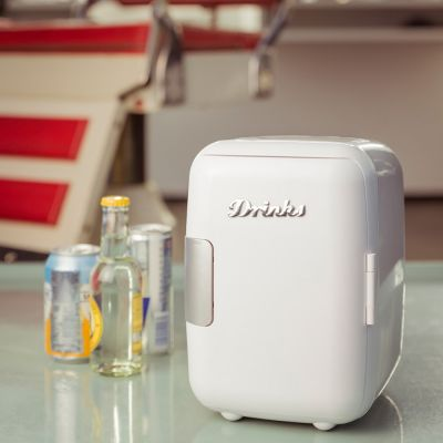 Cadeau voor vriend - Mini retro koelkast