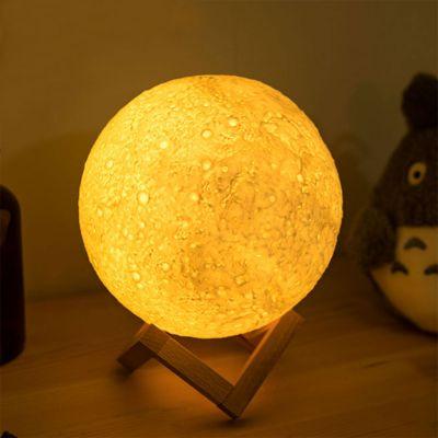 Verlichting - Maan nachtlampje met kleurverandering