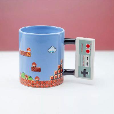 Kopjes & glazen - Nintendo NES Controller mok