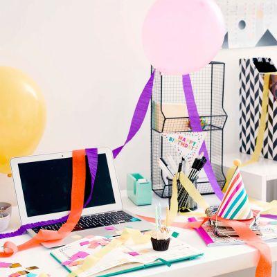 Plezier op kantoor - Verjaardagsbox voor op het kantoor
