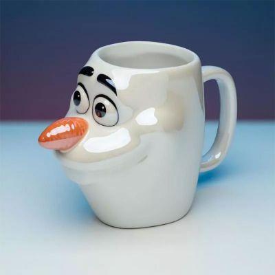 Kopjes & glazen - Frozen Olaf 3D mok