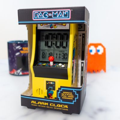 Back to school cadeaus - Pacman Arcade wekker