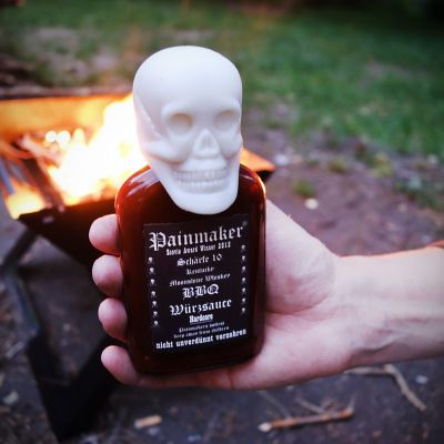 Hartige hapjes - Painmaker Hardcore BBQ saus